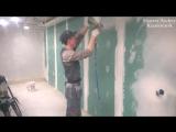 Шпаклевка стен быстро и аккуратно!