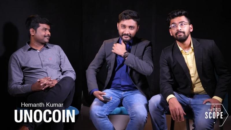 TheBigScope Interviews... Hemanth Kumar, CIO @Unocoin cryptocurrency bitcoin blockchain