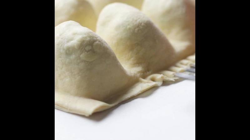 Ice Tray Pastry Pockets
