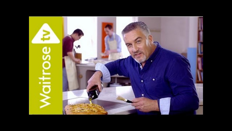 Get Baking With Paul Hollywood Potato And Thyme Focaccia Waitrose