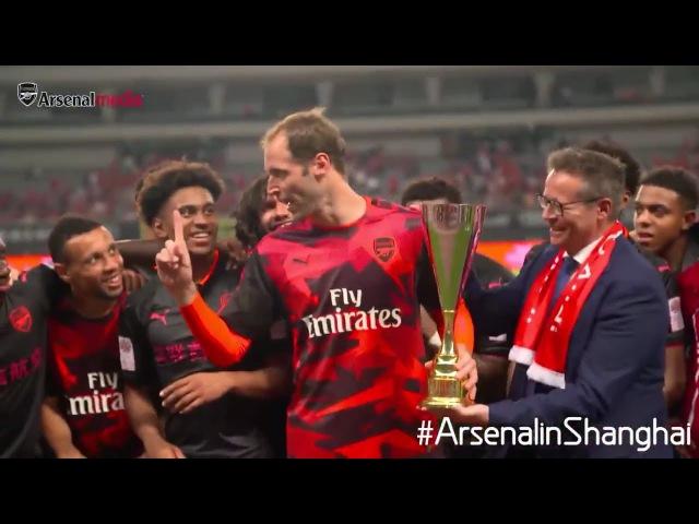 Petr Cech orders Arsenal players to NOT celebrate pre season trophy