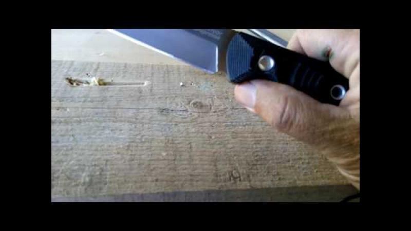 Небольшая доработка рукояти ножа Echo от Кизляр Суприм.