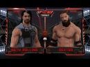 WFW Raw - Seth Rollins vs Dexter The Butcher 1/4 Final of Raw Tournament