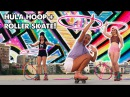 HULA HOOPING ON ROLLER SKATES WITH MARAWA AND MILLIE Planet Roller Skate Ep 11