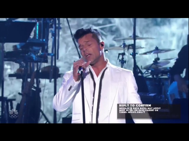 [HD] Ricky Martin - I Am Made Of You (Live At One Voice 10/14/2017)