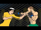 Conor McGregor VS Bruce Lee Before the fight with Floyd Mayweather