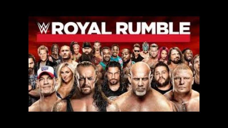 30 Superstar - WWE Royal Rumble 2017 Match Highlights