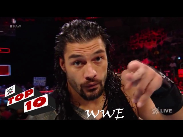 Top 10 Raw moments: WWE Top 10, September 18, 2017 highlights