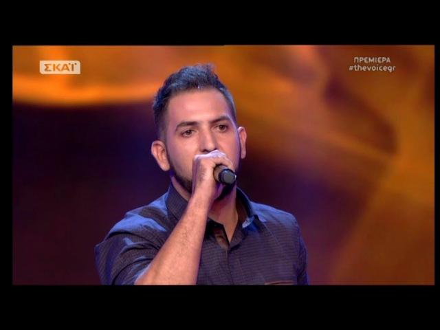 The Voice of Greece 4 - Blind Audition - ANATHEMA SE - Xristos Kalatzis