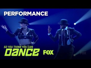 Kaylee & Cyrus' Jazz Performance | Season 14 Ep. 13 | SO YOU THINK YOU CAN DANCE