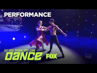 Kiki & Jenna's Contemporary Performance | Season 14 Ep. 13 | SO YOU THINK YOU CAN DANCE
