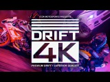 Drift 4K - Motorcycle vs. Car Drift Battle 4 (Full 4K) Стантрайдинг