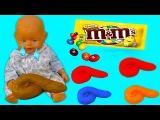 Bad Kids Baby Doll Poops Accident M&ampM's Johny Johny yes papa Song Nursery Rhymes Song for Children
