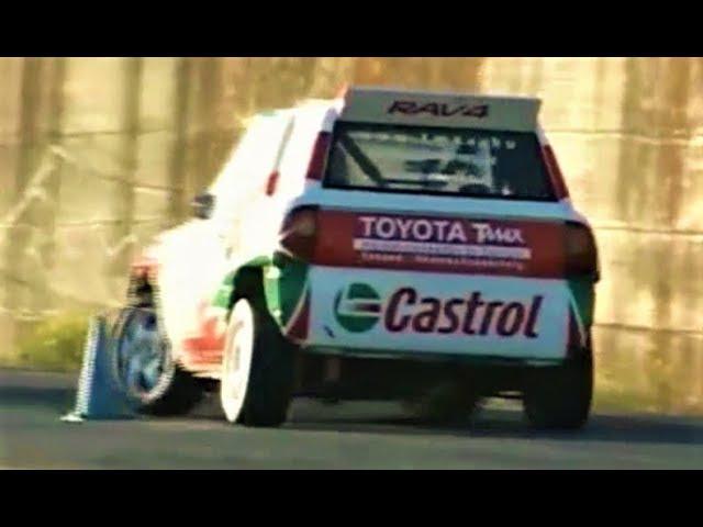 Toyota RAV4 Turbo with 3S-GTE Engine 450Hp/1050Kg Slalom Monster