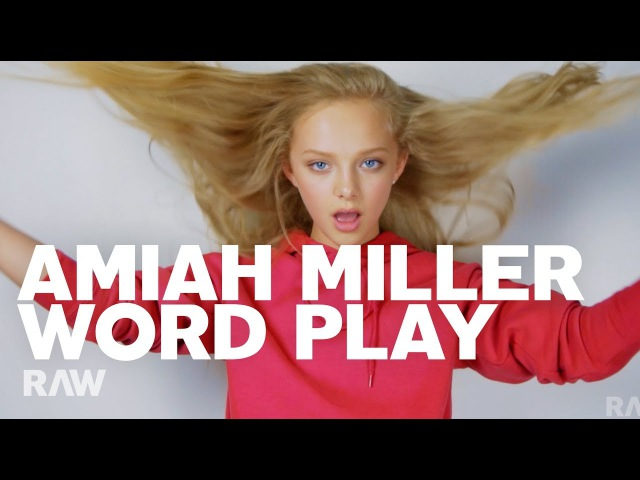 Amiah Miller for RAW's Word Play