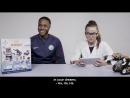 3 футболиста Manchester City собирают 3 робота Ubtech Jimu