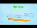 АЛФАВИТ - Развивающая песенка мультик Синий трактор для детей малышей с машинками Учим буквы весело 1