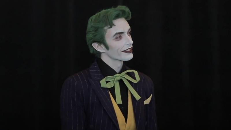 Anthony Misiano Harleys Joker @ Comikaze 2012
