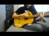 Asking Alexandria - Into The Fire cover (part)
