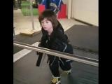 Берсану 7 лет и он очень шустрый парень!