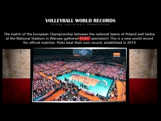 Volleyball World Records. Guinness World Records.