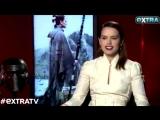 Vídeo | Daisy Ridley fala sobre Carrie Fisher e seu livro