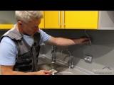 Светодиодная подсветка рабочей зоны кухни своими руками! Быстро, просто, дешево