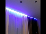 светодиодная подсветка ниши под карниз на натяжном потолке