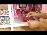 Видео для девочек про куклы. Покупки. Кукольный домик