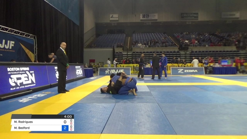 Mateus Rodrigues vs Matthew Bedford 2018 Pan Jiu-Jitsu IBJJF Championship