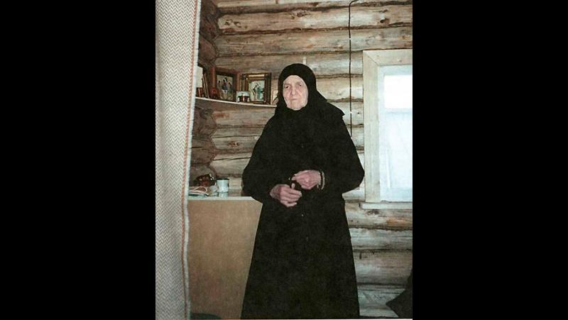 Схимонахиня Матушка Сепфора (Шнякина) - птичка небесная