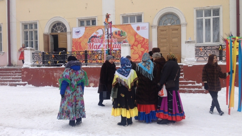 Широкая Масленица Тульский Молодёжный центр в ДКЖ