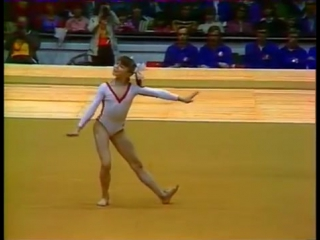1977 European Womens Gymnastics Championships - Event Final_ Filatova FX