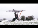 Passenger drone test flight in Germany. Would you use a personal flying machine to get to the grocery store