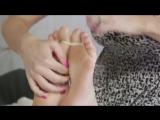 Tickling & licking feet