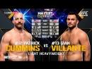 UFC ON FOX 25: Patrick Cummins vs Gian Villante Highlights