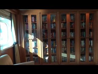 Princess Cruise Ship Library Tour