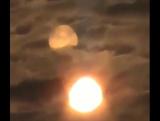 Нибиру в Колорадо! Два Солнца засняли в США