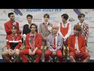 """NCT 127 on """"Cherry Bomb"""" Dance and New York City ¦ Exclusive Interview"""