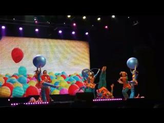Шари вари ЗЛКРБ цирк Юность Концерт Новополоцк культурная столица Беларуси 2018 года