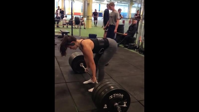 Вилма Олссон - тяга 190 кг
