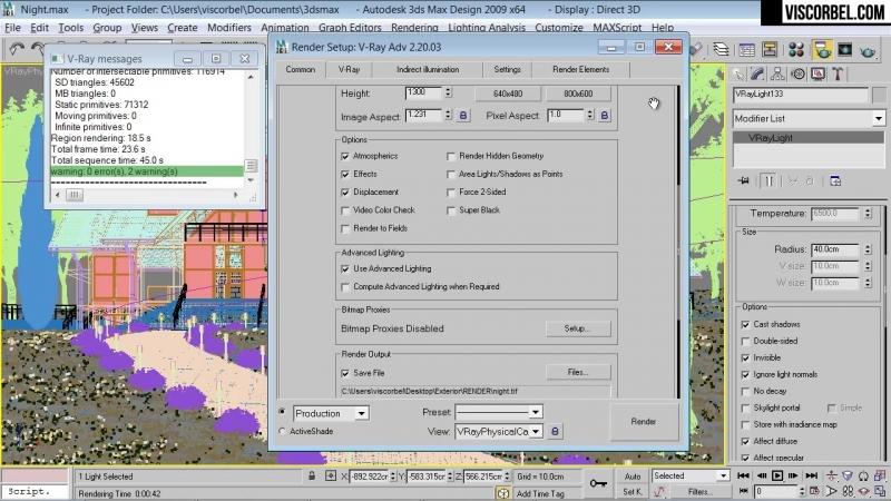 17 Final render settings
