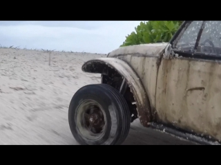 Rc Sand Scorcher adventures  on the island