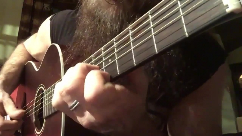 Zakk Wylde - Blood Is Thicker Than Water BLUES STYLE ACOUSTIC PROTO