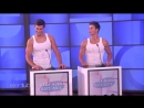 Ellen Tests Her Hunky Hotties in Hubba Hubba Quiz Quiz RUS SUB