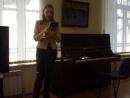 Ольга Сиротинина читает стихи на итальянском языке