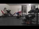 Становая тяга (215кг) (08.12.2017) (срущая собака атакует)