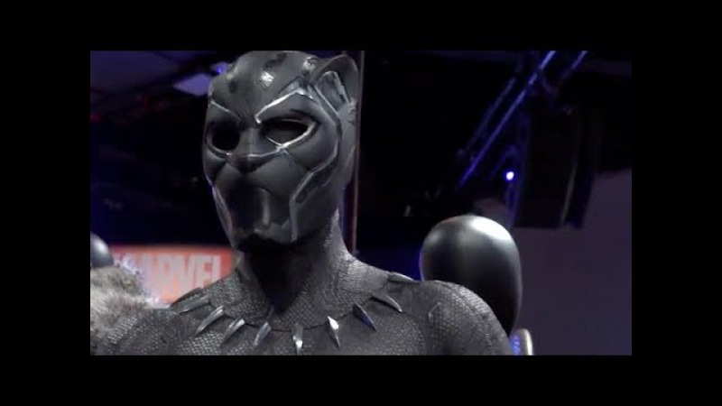 A Close Look at Black Panther's Props and Costumes - D23 2017