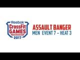 Assault Banger Men Event 7  Heart 3 Crossfit Games 2017