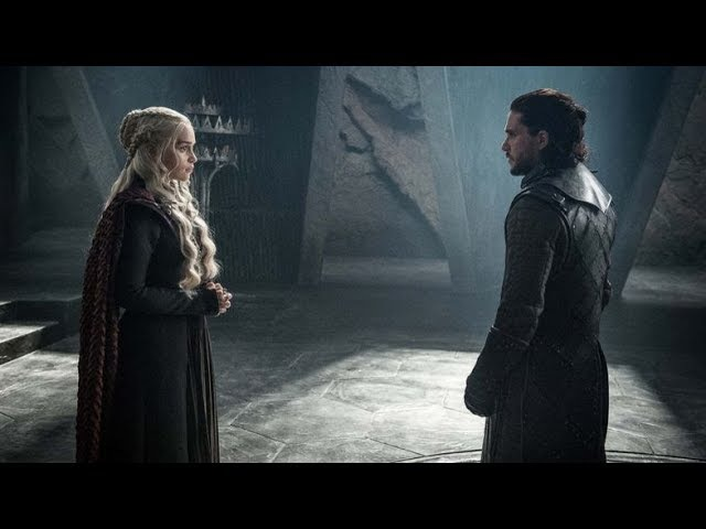 Jon Snow Daenerys Targaryen | I saw the Sun | Game of Thrones